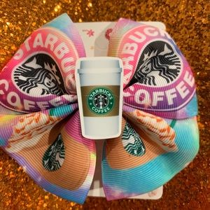 Fashion Starbucks bow